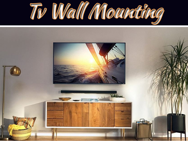 Tv Wall Mounting In 4 Quick Steps