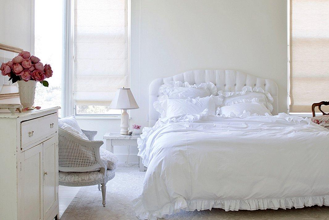 White Bedroom Plan