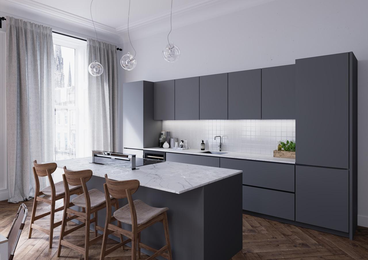 Kitchen Installed In Irvine