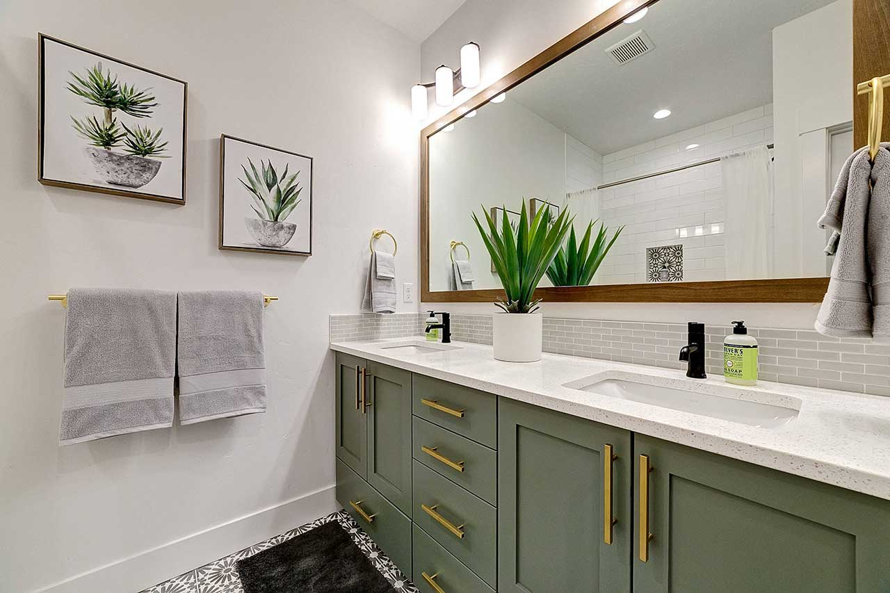 Aloe Vera Bathroom Plant