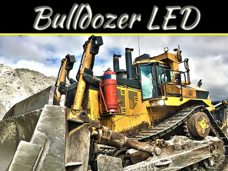 Are LED Lights A Good Addition To Your Bulldozer?