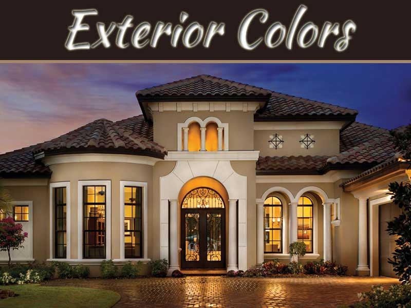 best exterior house color combinations schemes