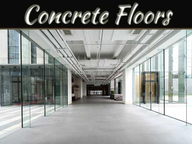 Concrete Floors For Large Factories
