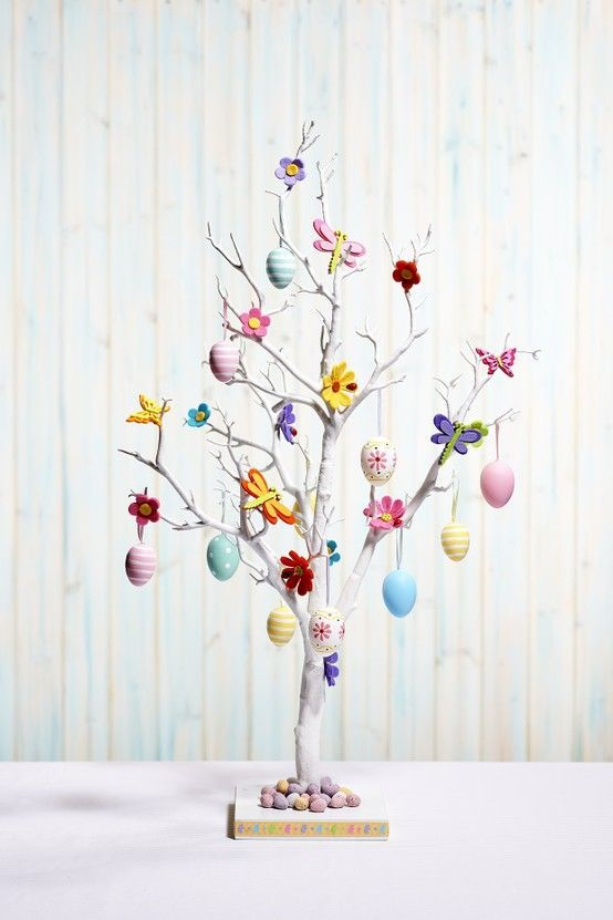 Decoration Of Easter Tree