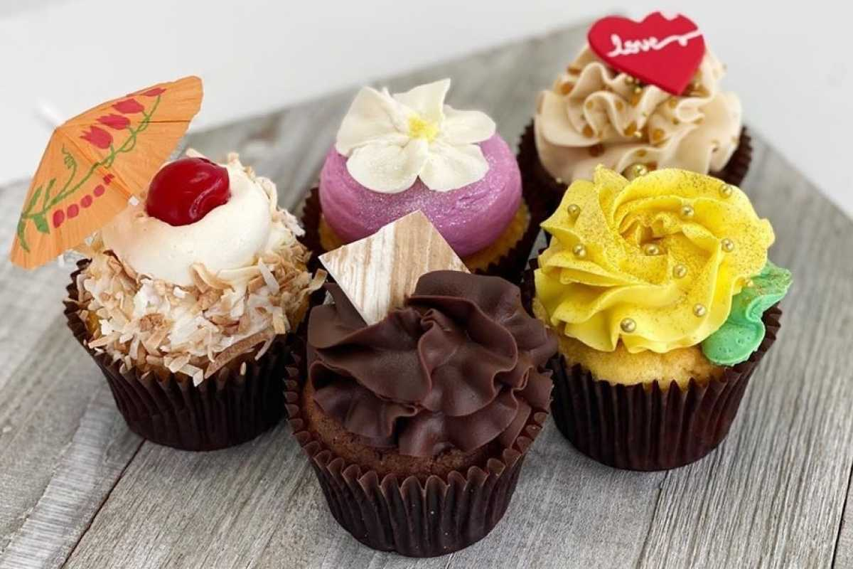 Delicious Cupcakes For Mother's Day