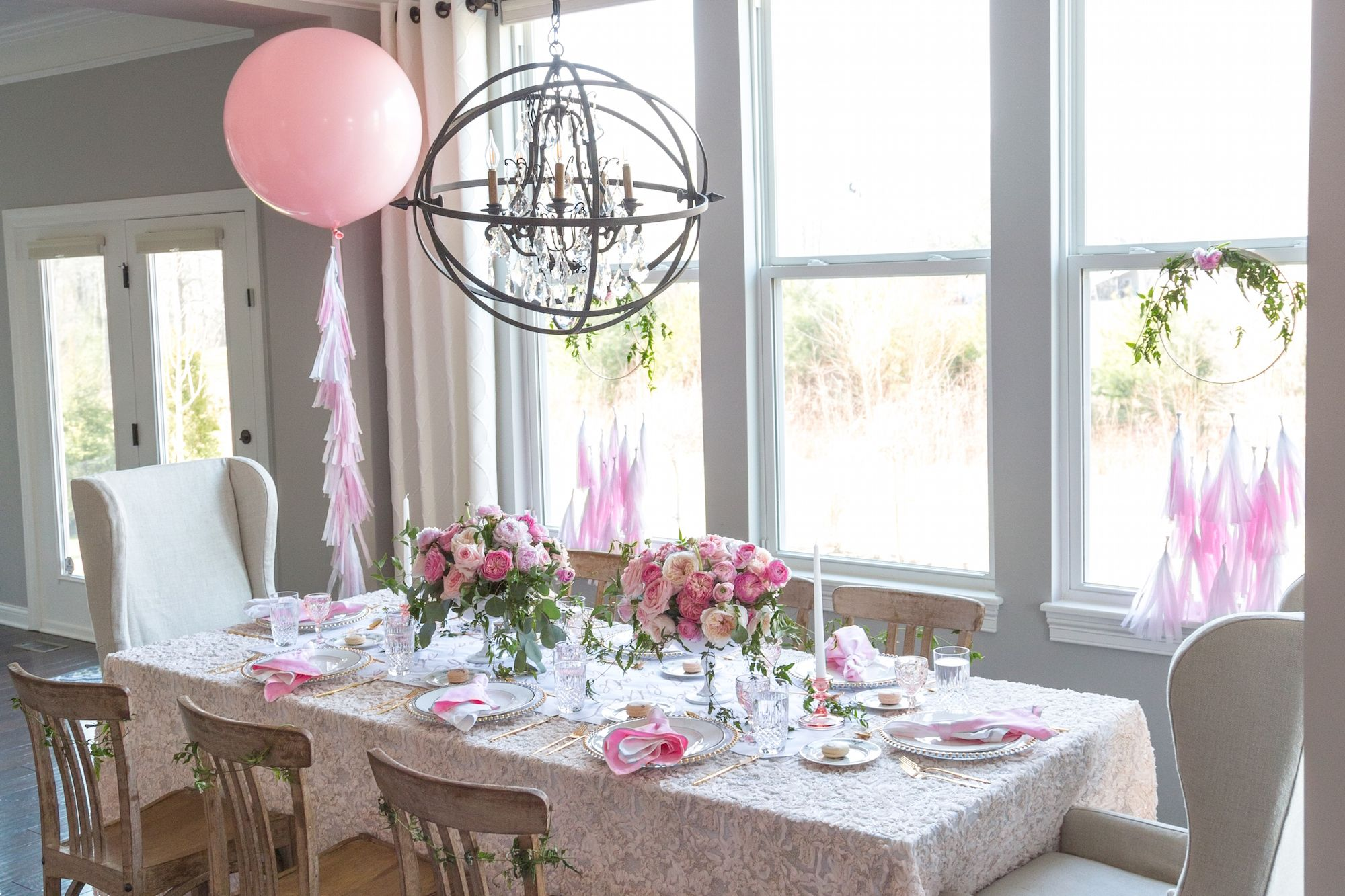 Dining Table Decoration For Mother's Day