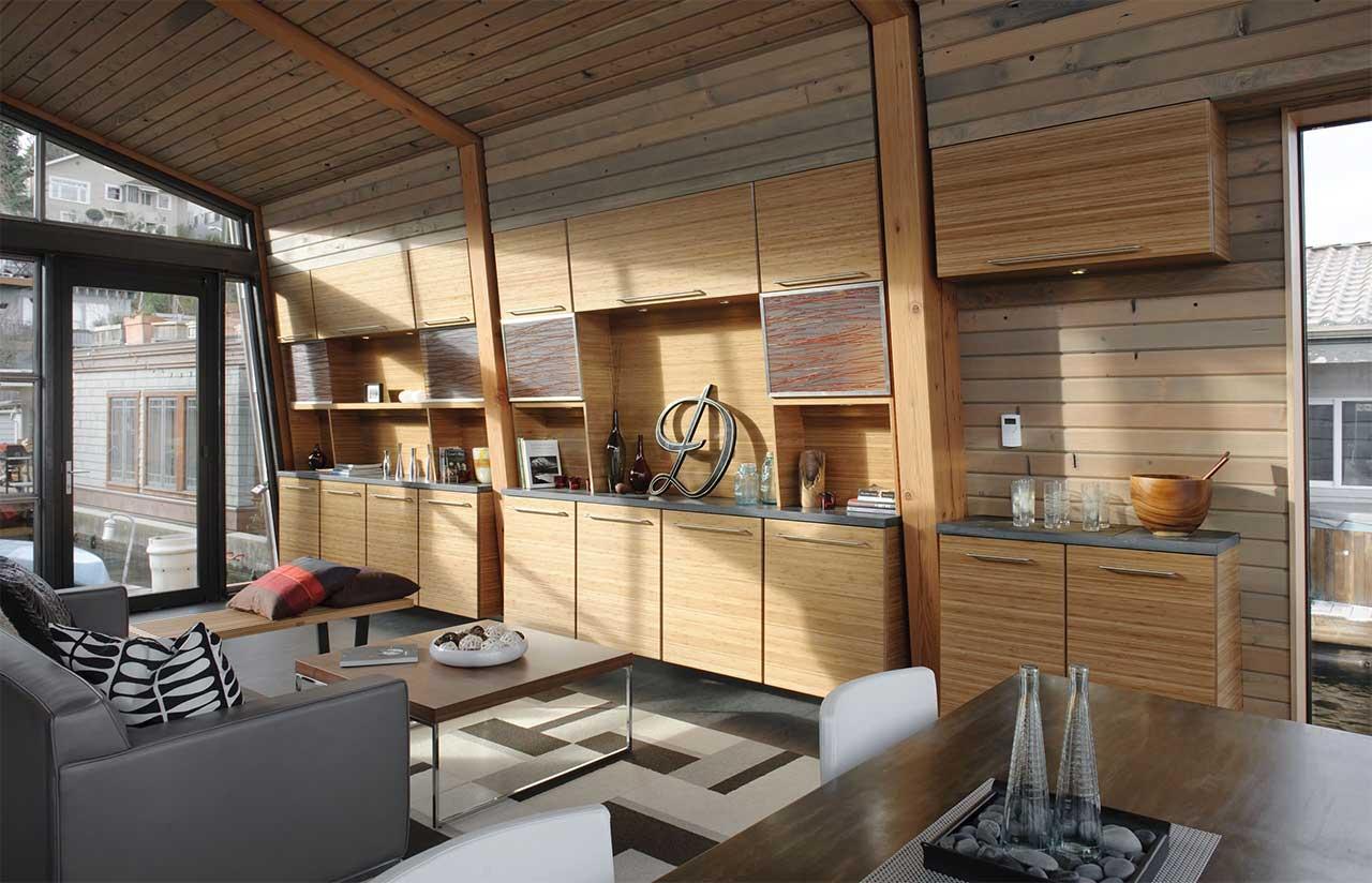 Interior Wood Paneling