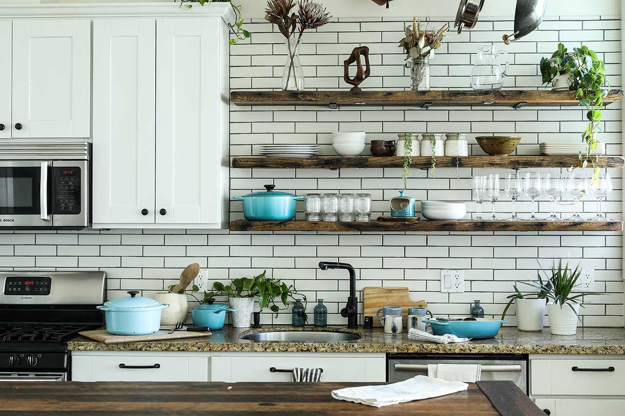 Modern Shabby Chic Kitchen Design