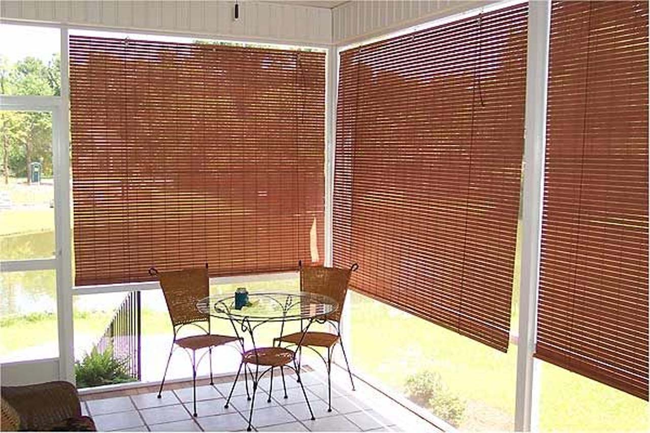 Roll-up Outdoor Shades