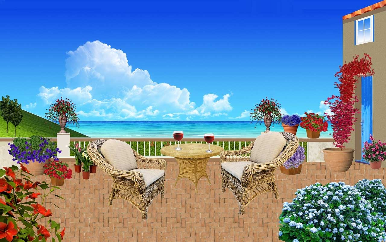 Seaside Patio Rattan Furniture