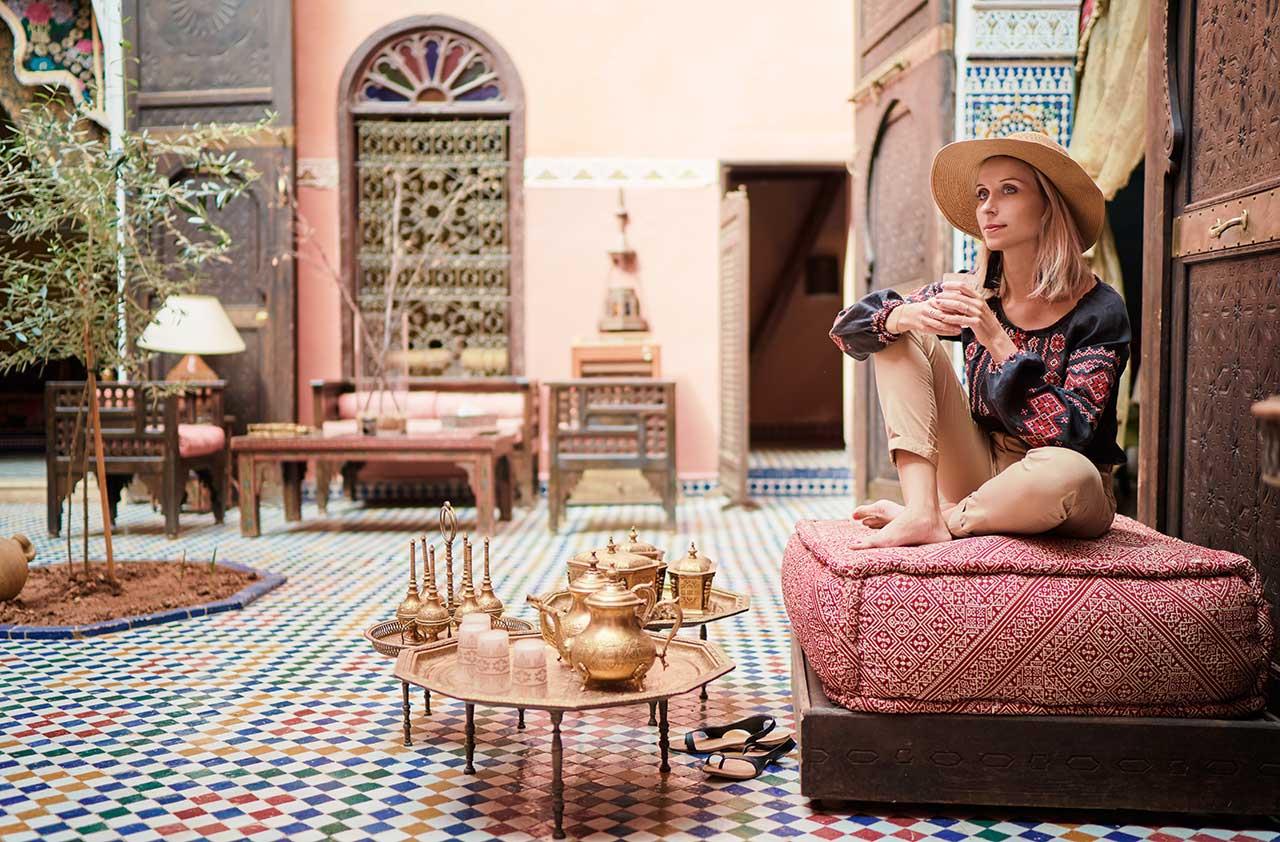 Traditional Riad Interior