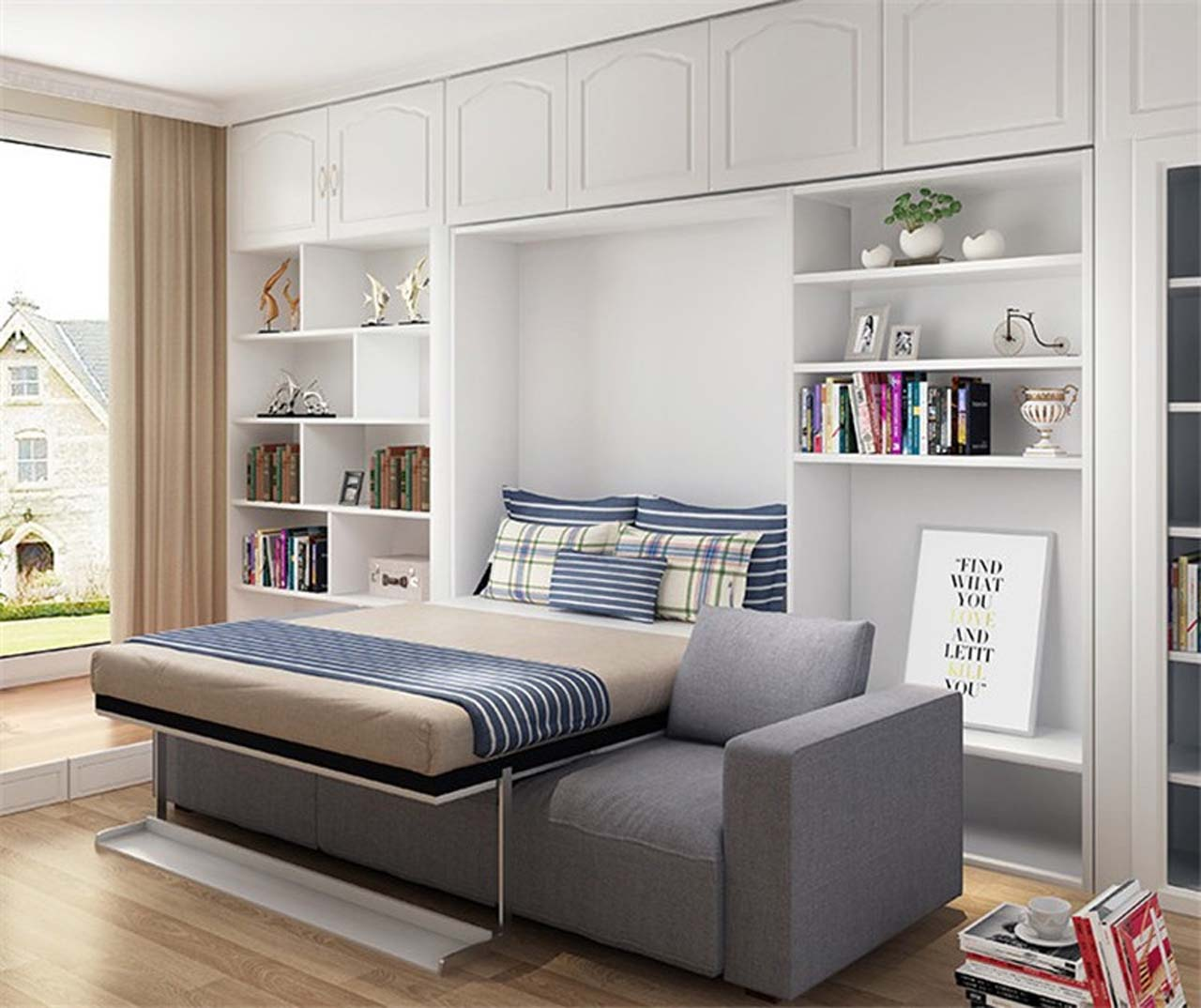 Why Choose A Murphy Bed