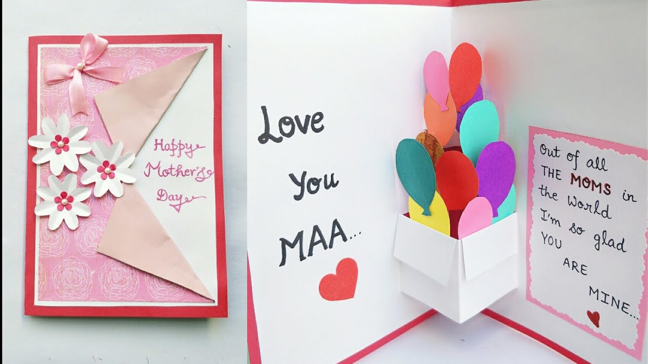 DIY Mother's Day Wishing Card