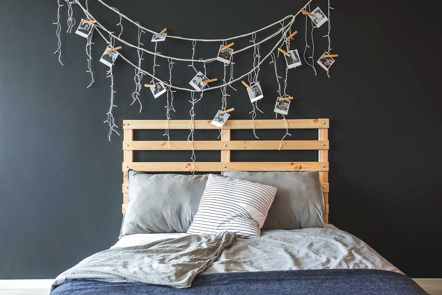 Recycle Pallets Headboard