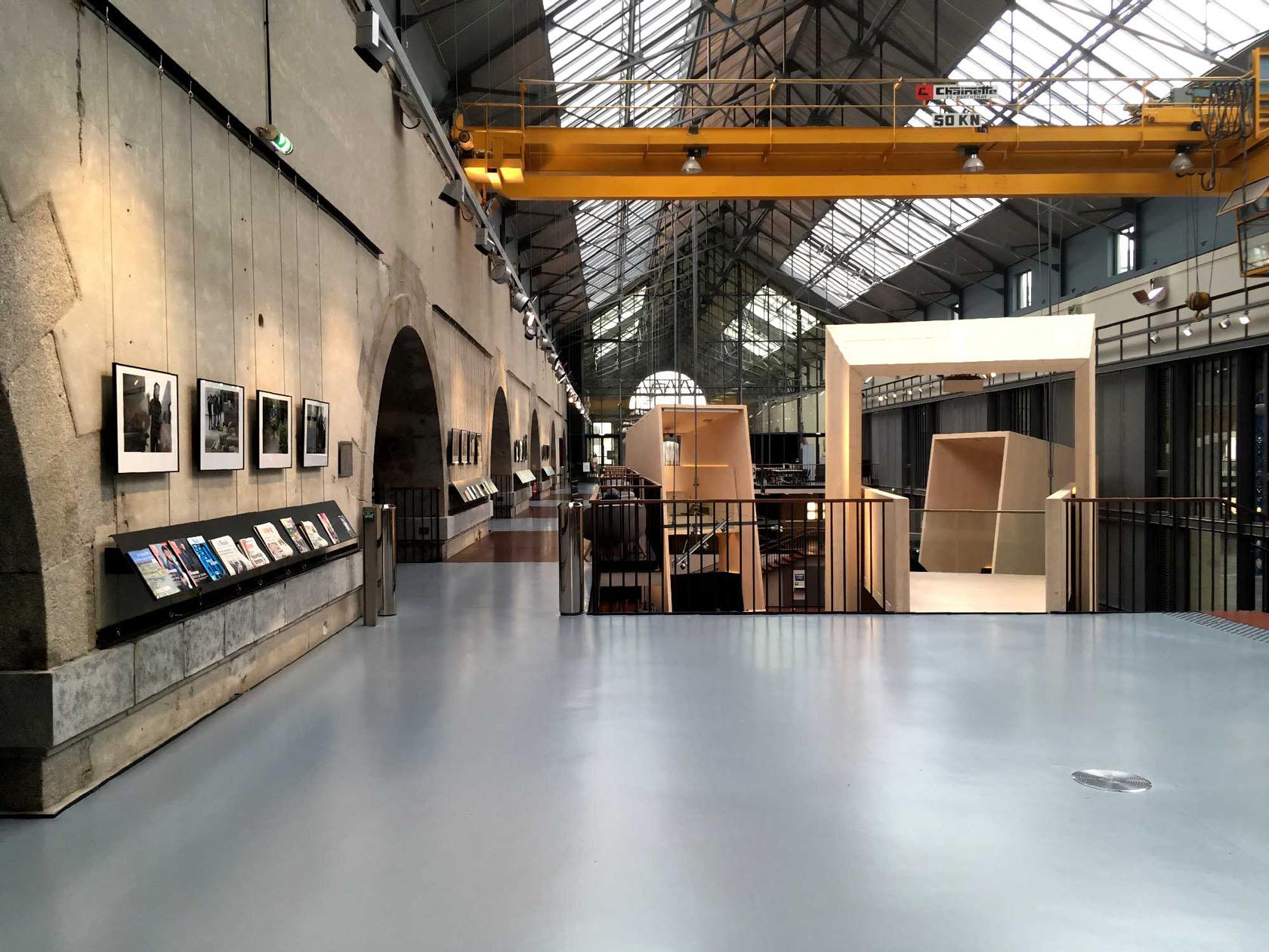 Flooring for Modern Design Building
