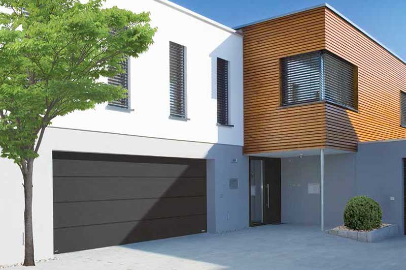 Insulated Sectional Steel Garage Doors