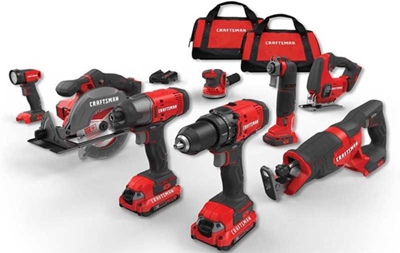 Cordless Power Tool Combo Kit