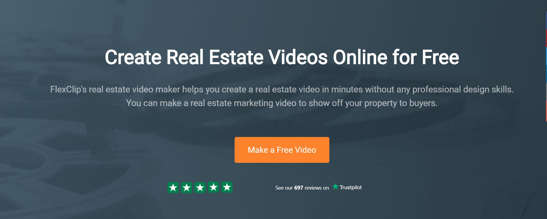 FlexClip Real Estate Video Maker