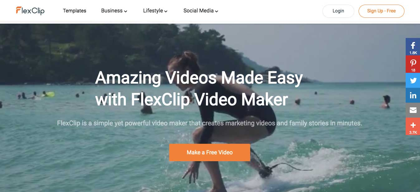 FlexClip Online Video Maker