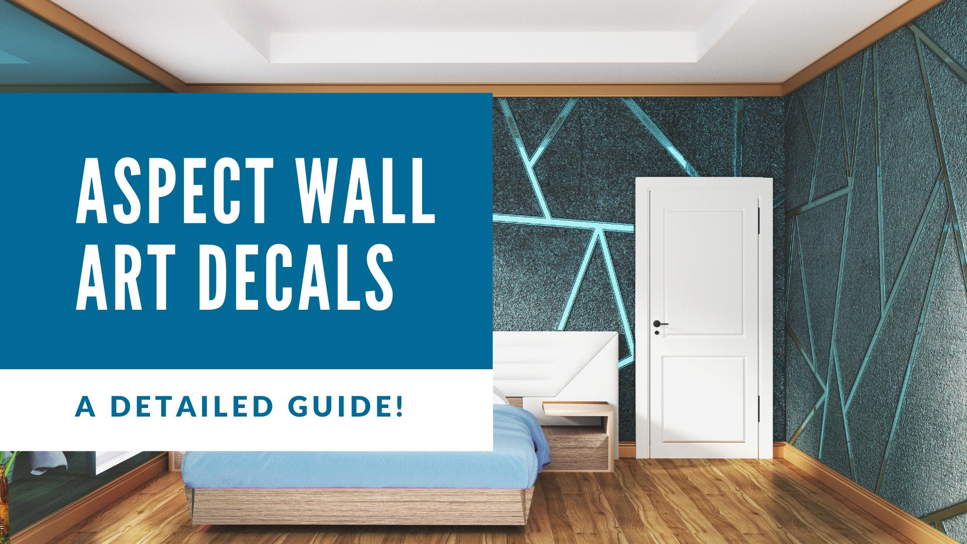 Aspect Wall Art Decals