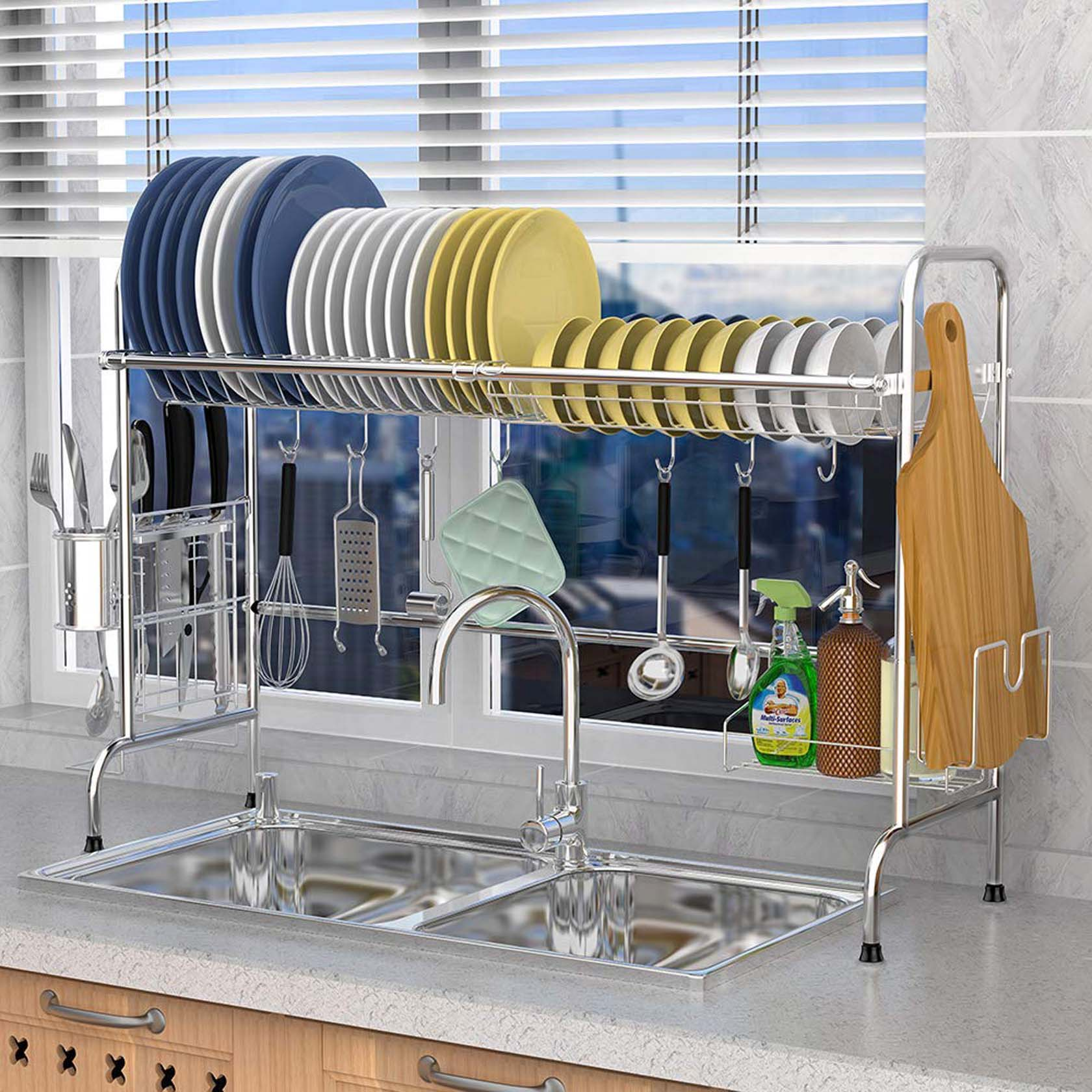 An Automated Rack For Kitchen Utensils