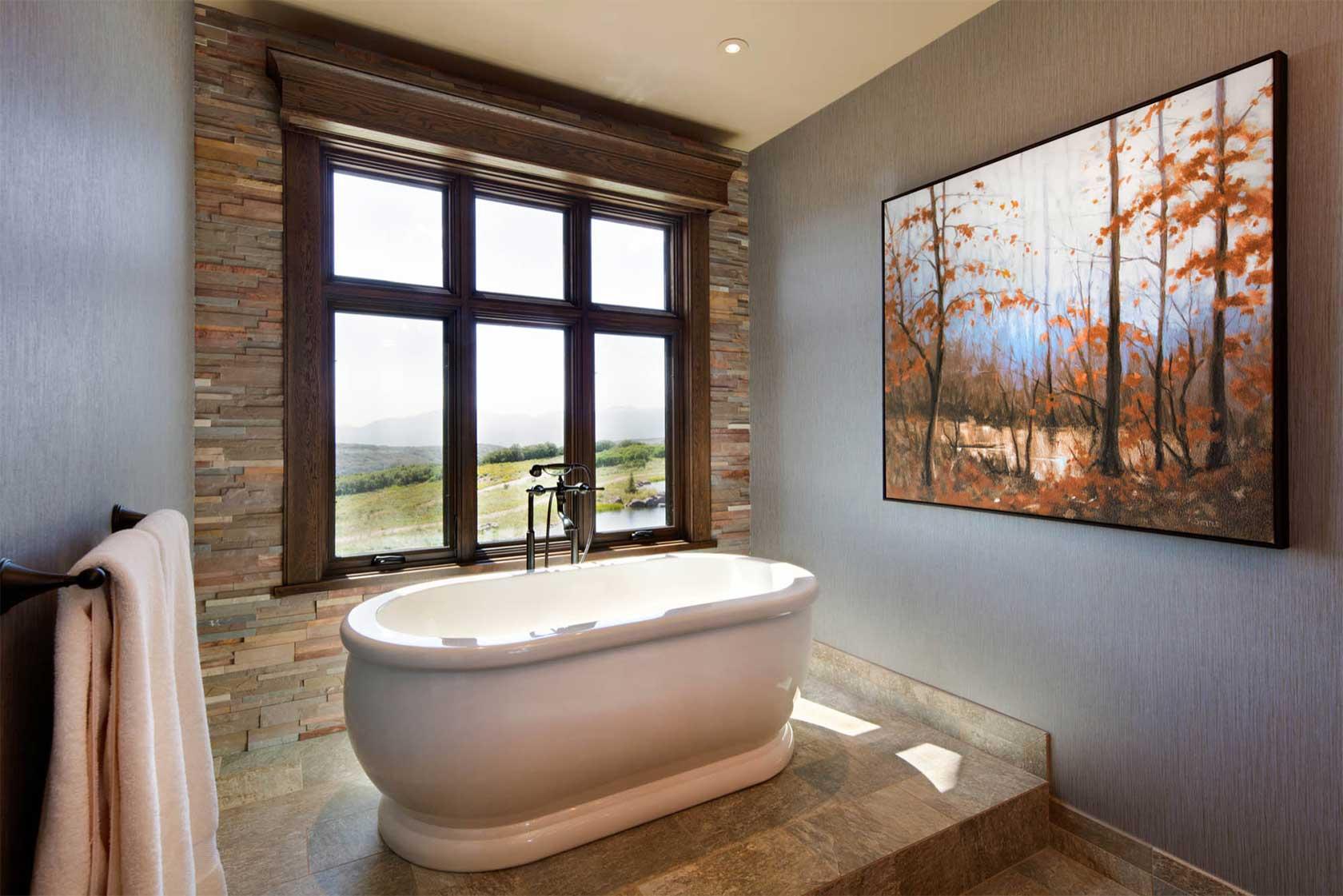 Beautiful Rustic Bathroom Design Ideas