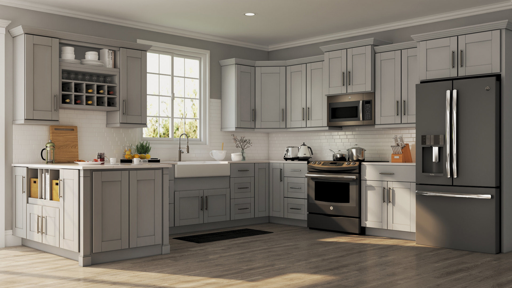 Dove Gray Kitchen Cabinets