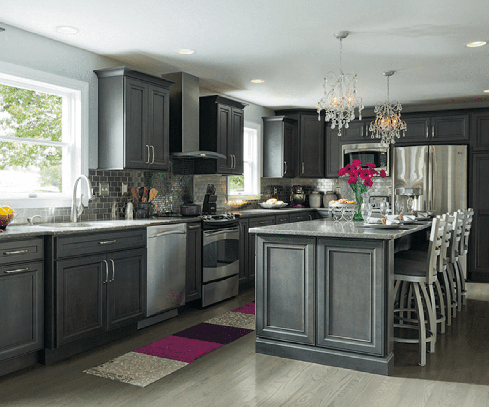 Gray Cabinets For A Kitchen