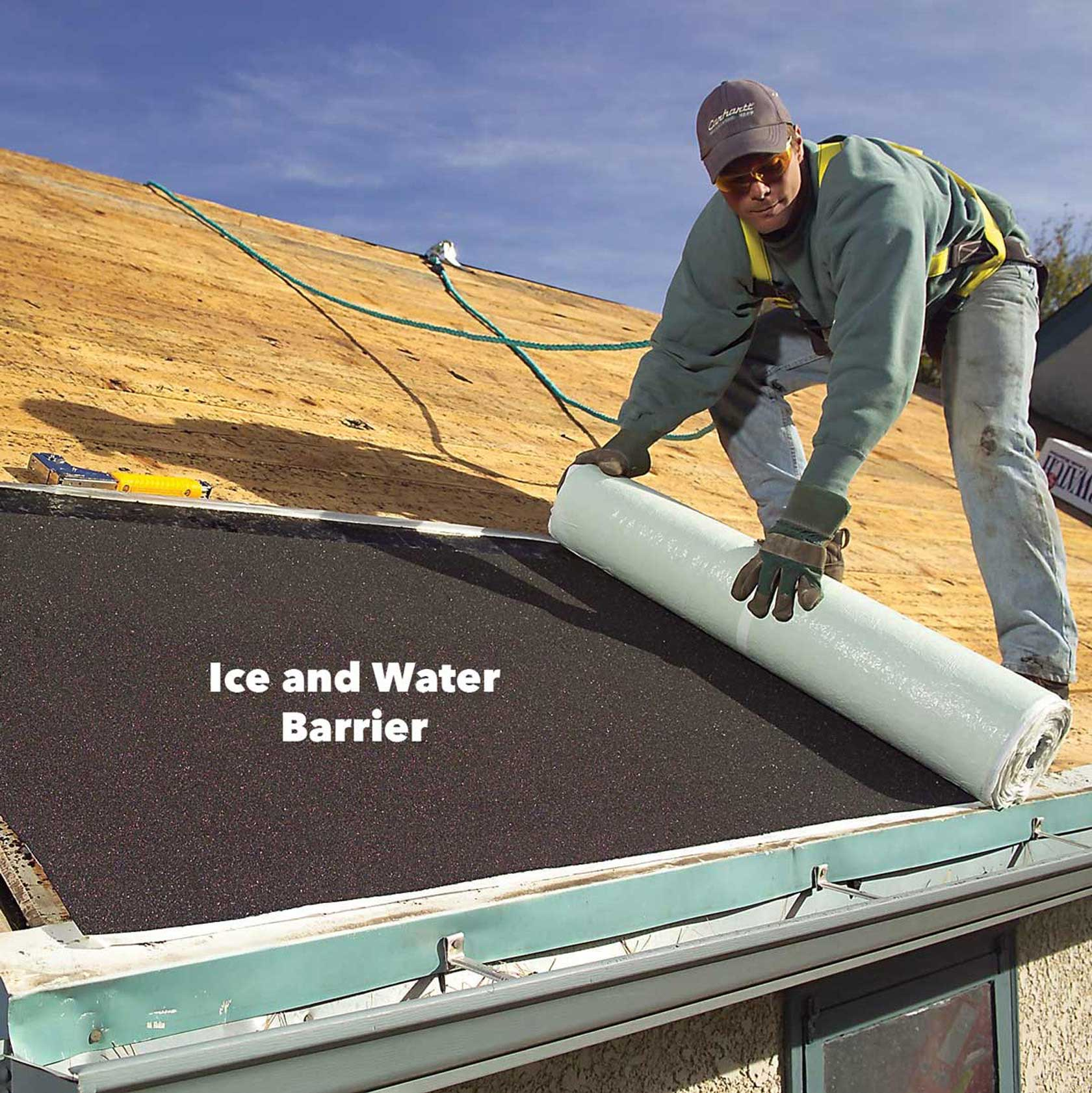 Ice Slopes And Water Shields
