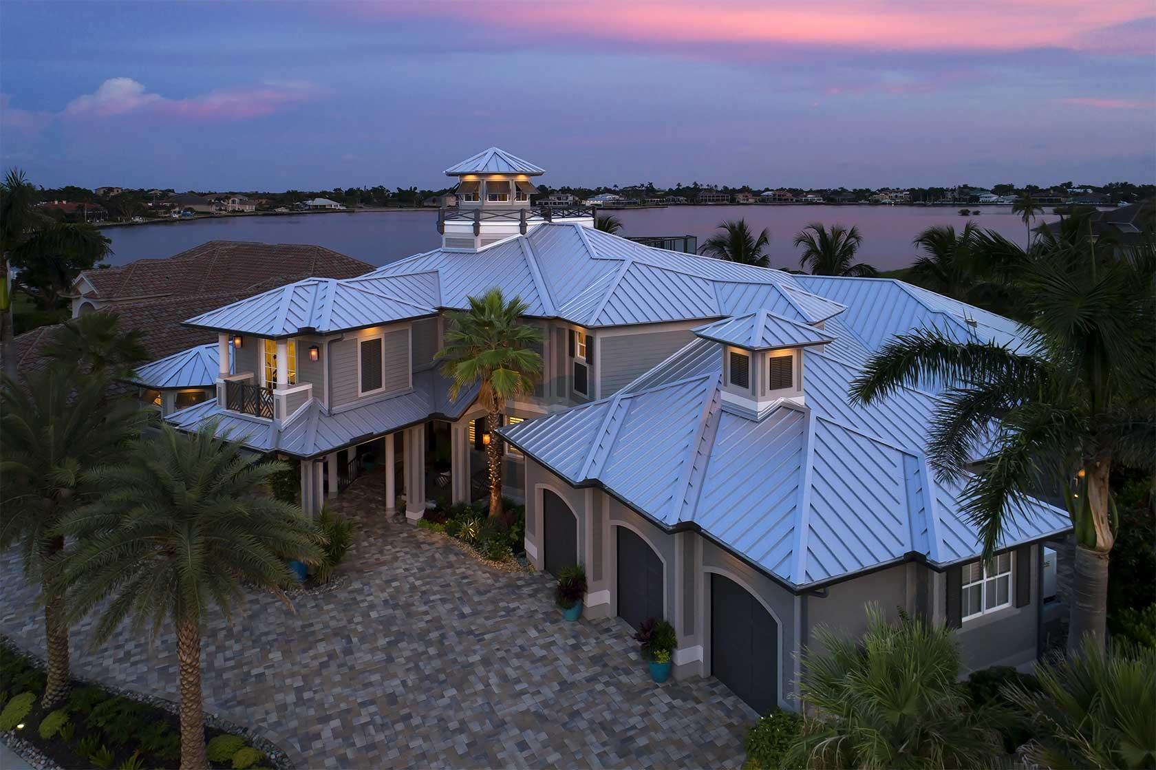 Modern Metal Roofs