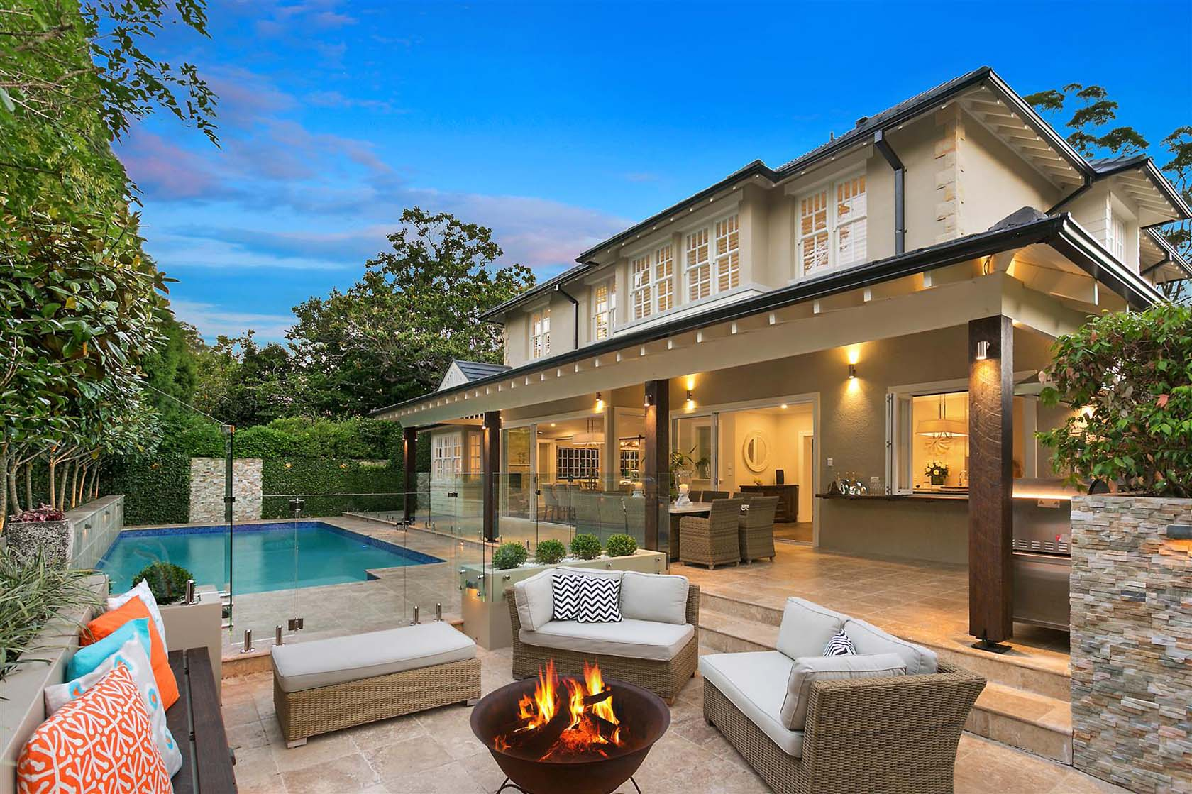 Perfect Outdoor Entertaining Area