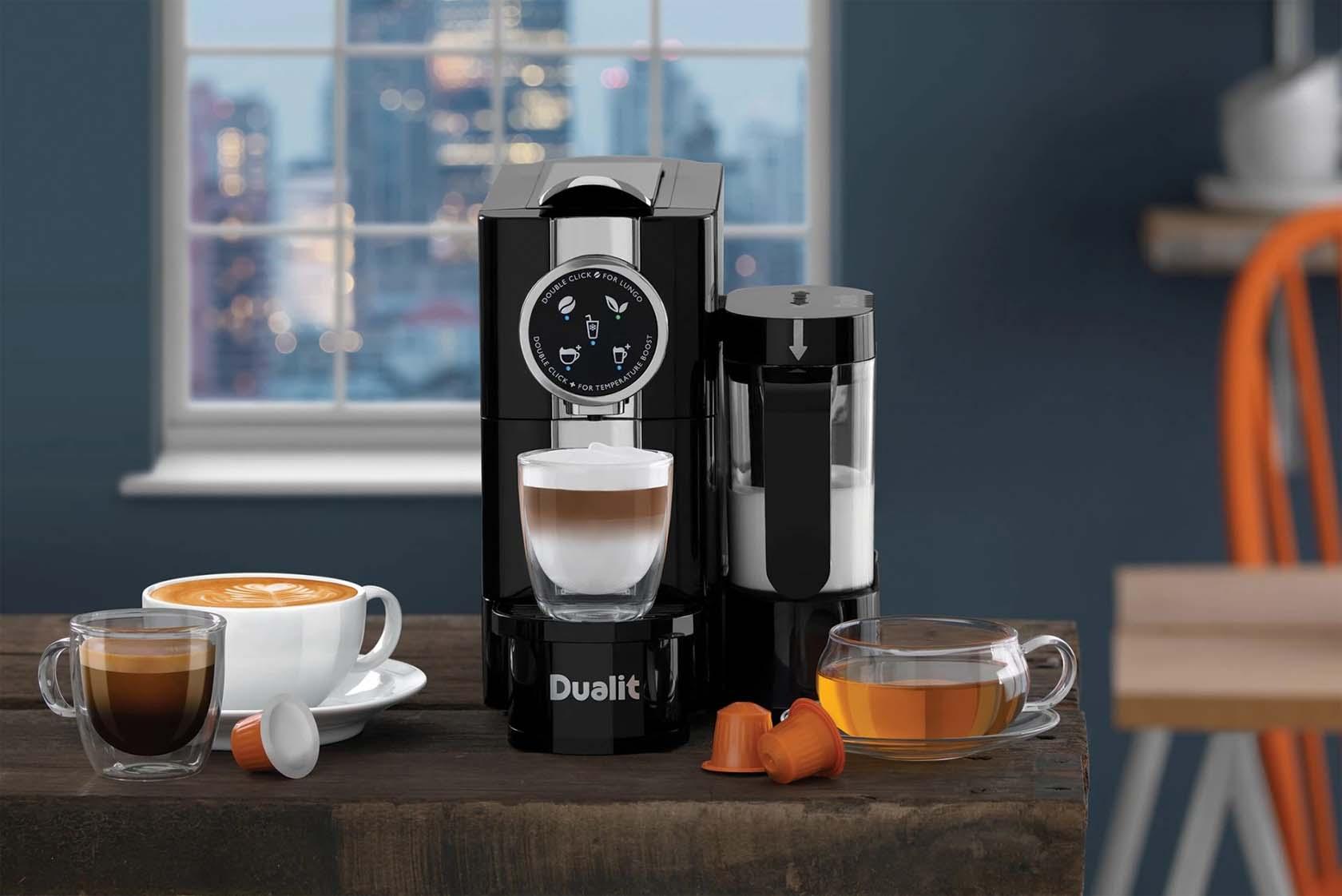A Popup Platform For A Coffee Machine