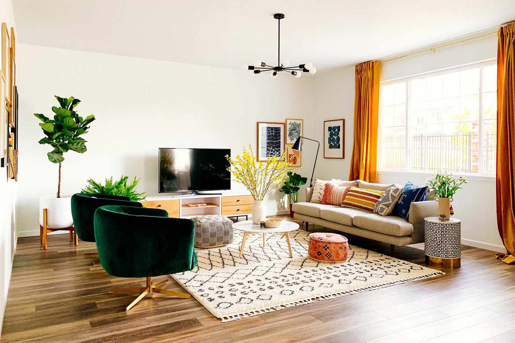 Unique Furniture Placement
