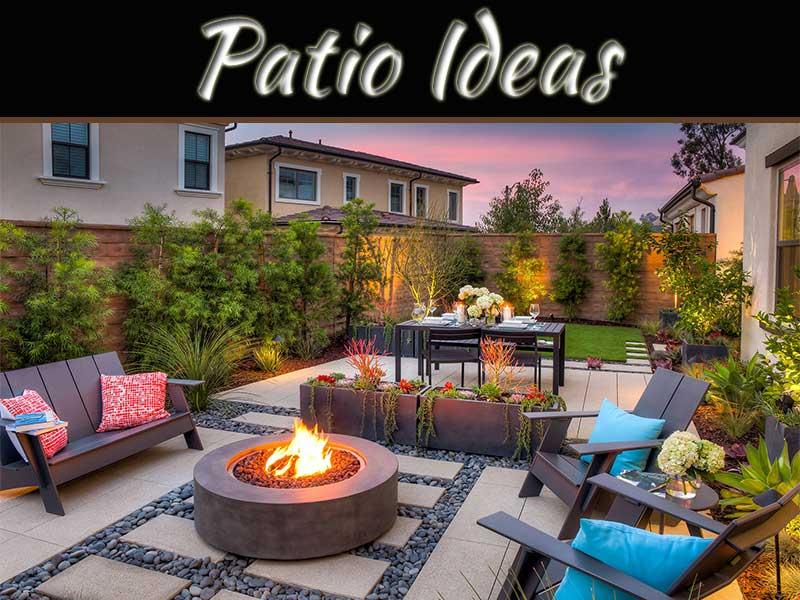 Simple Patio Ideas For Suburban Homes, Backyard Ideas Patio