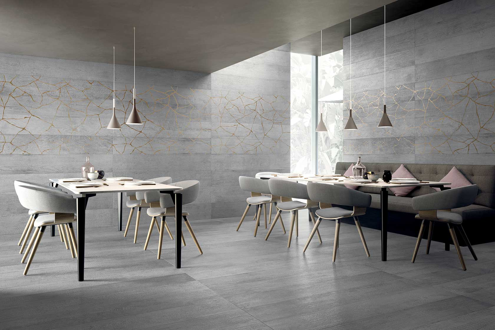 Contemporary Wood Look Tiles