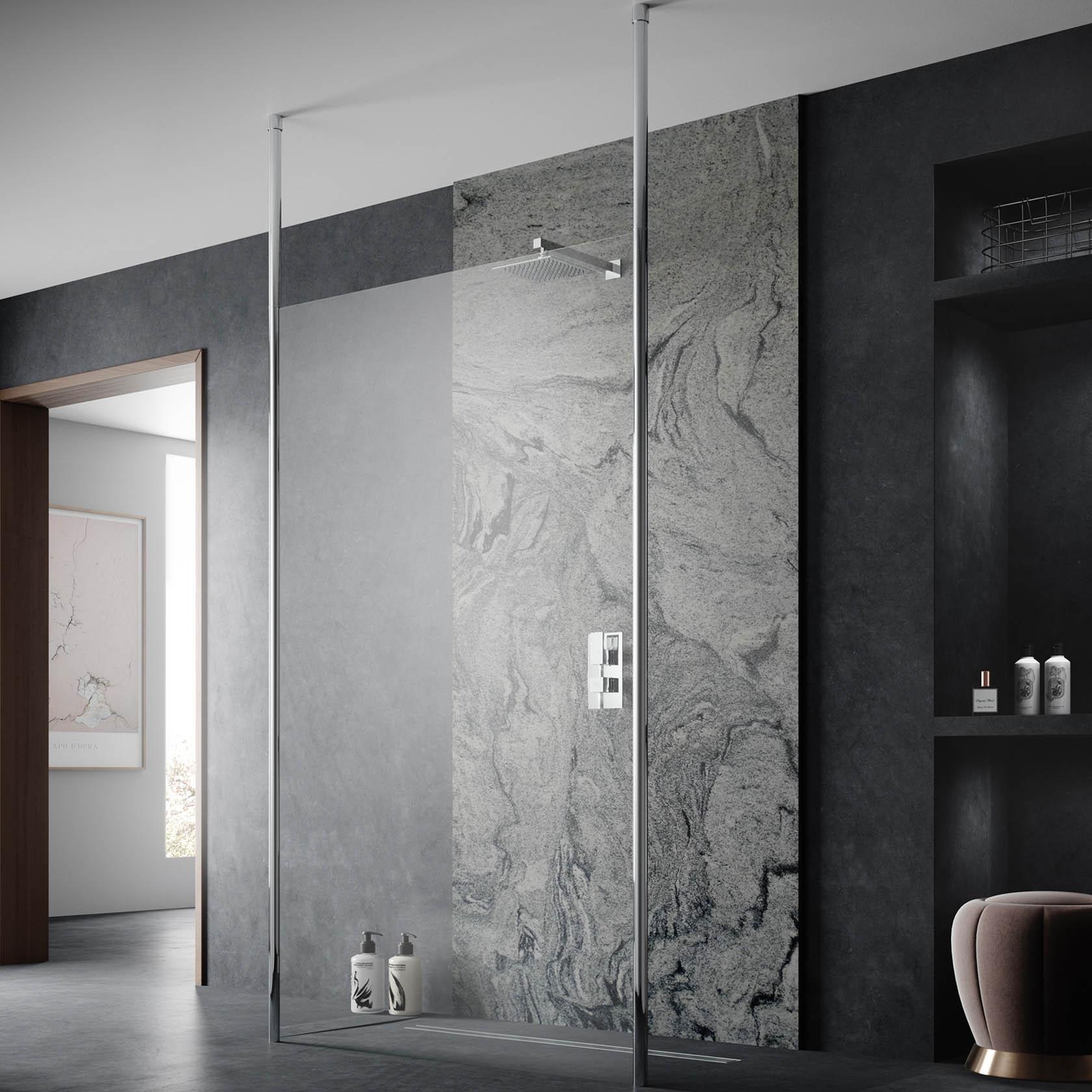 Fully Framed Shower Screens