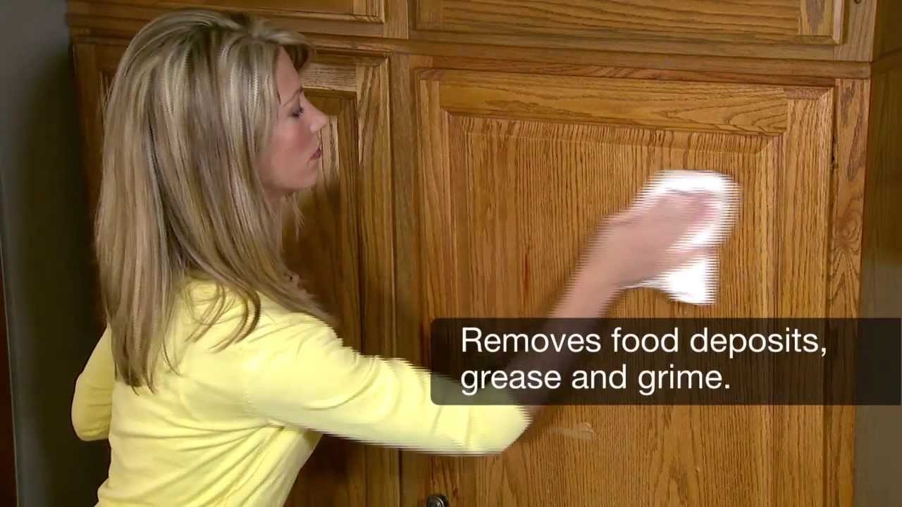 Kitchen Cabinets Cleaning