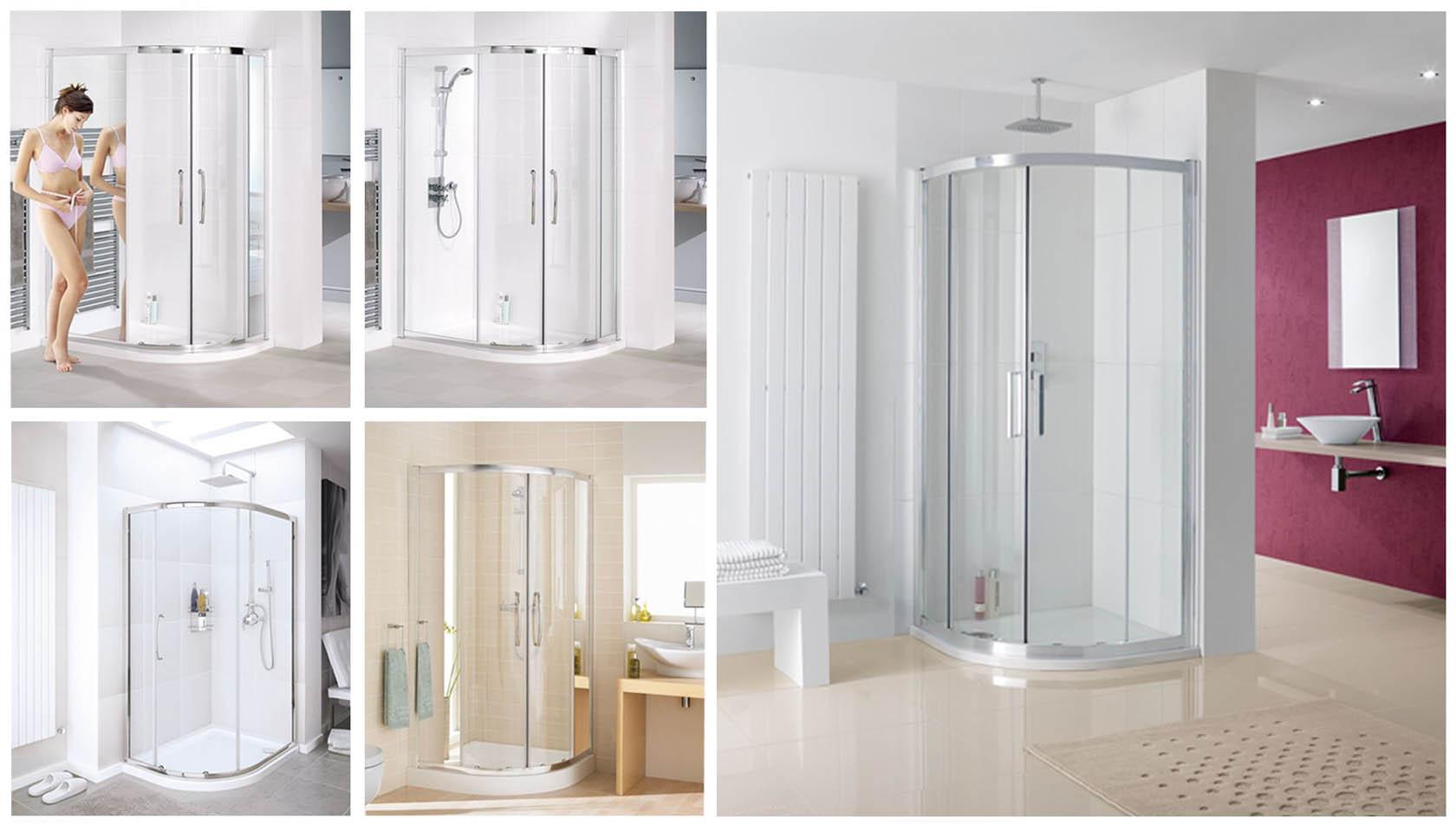 Quadrant Shower Screens
