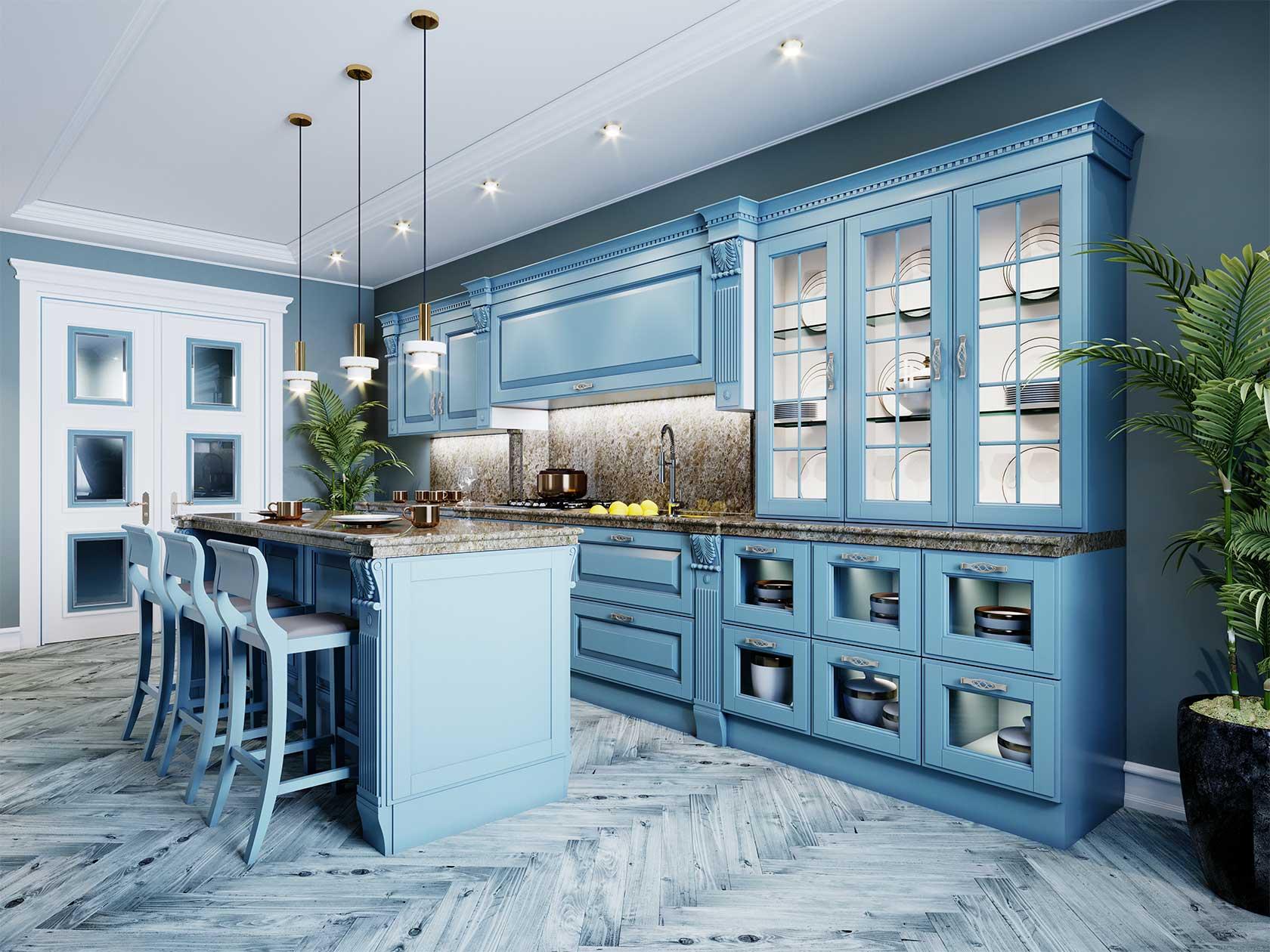 Chic Kitchen Cabinets