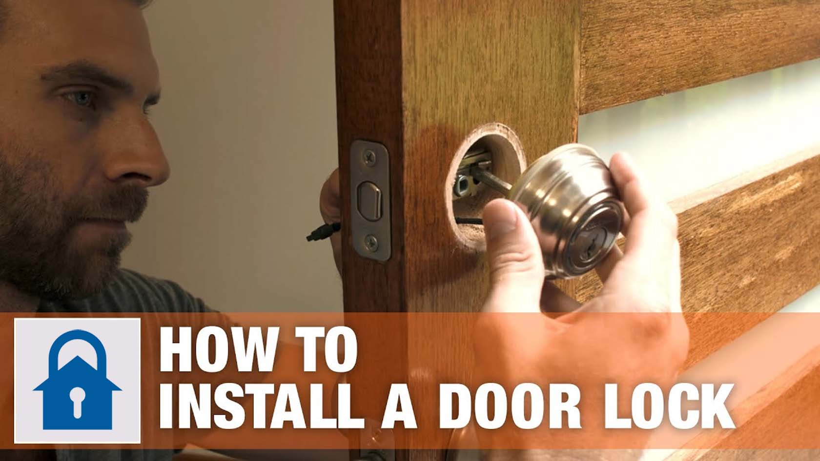 How To Install A Door Lock And Handle