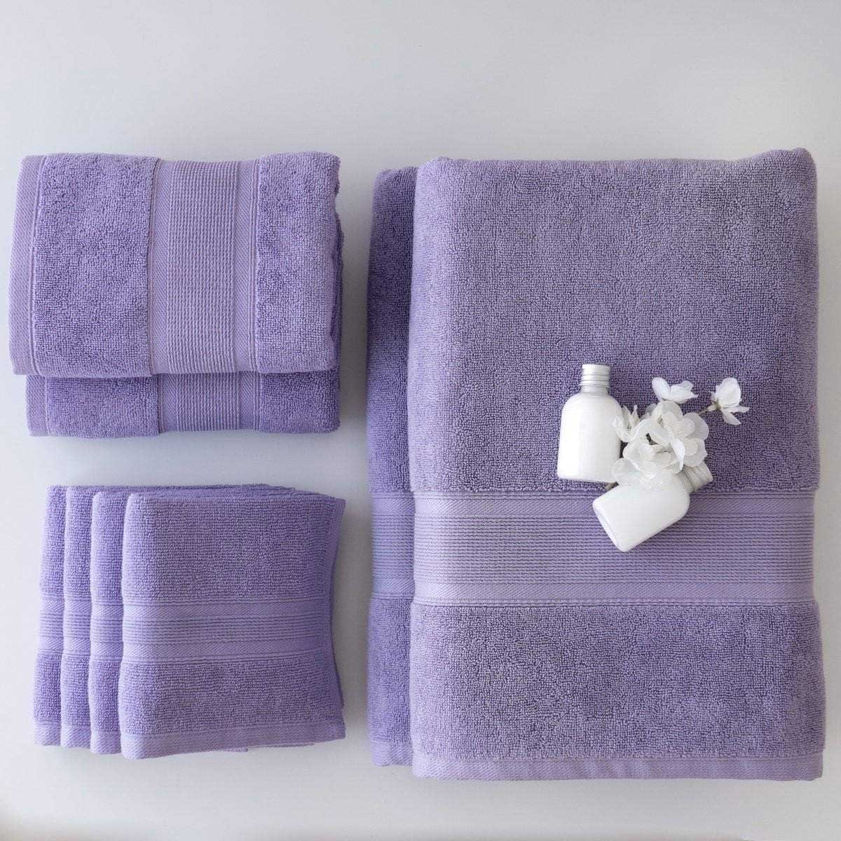 Luzia Lavender Home Towels