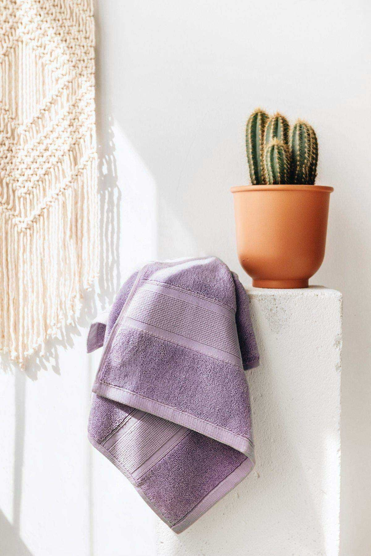 Premium Turkish Cotton Lavender Towel