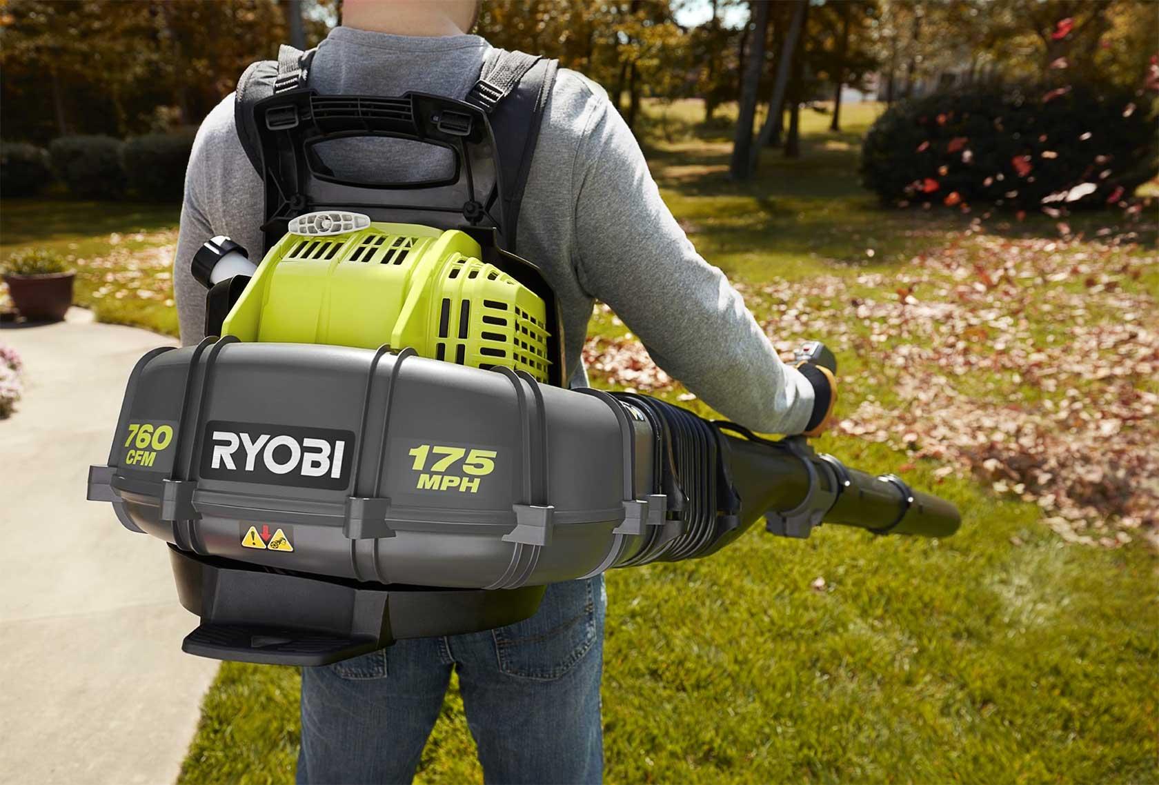 Ryobi Backpack Leaf Blower