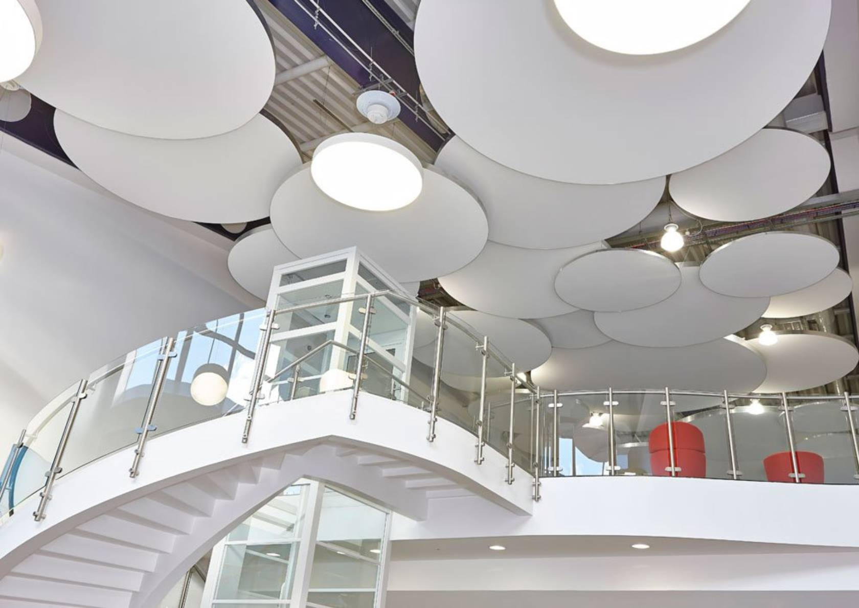 Synthetic Or Fabric False Ceiling Panels