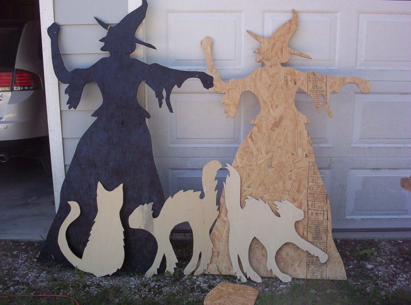Wood Cut-Out At Your Garage Door