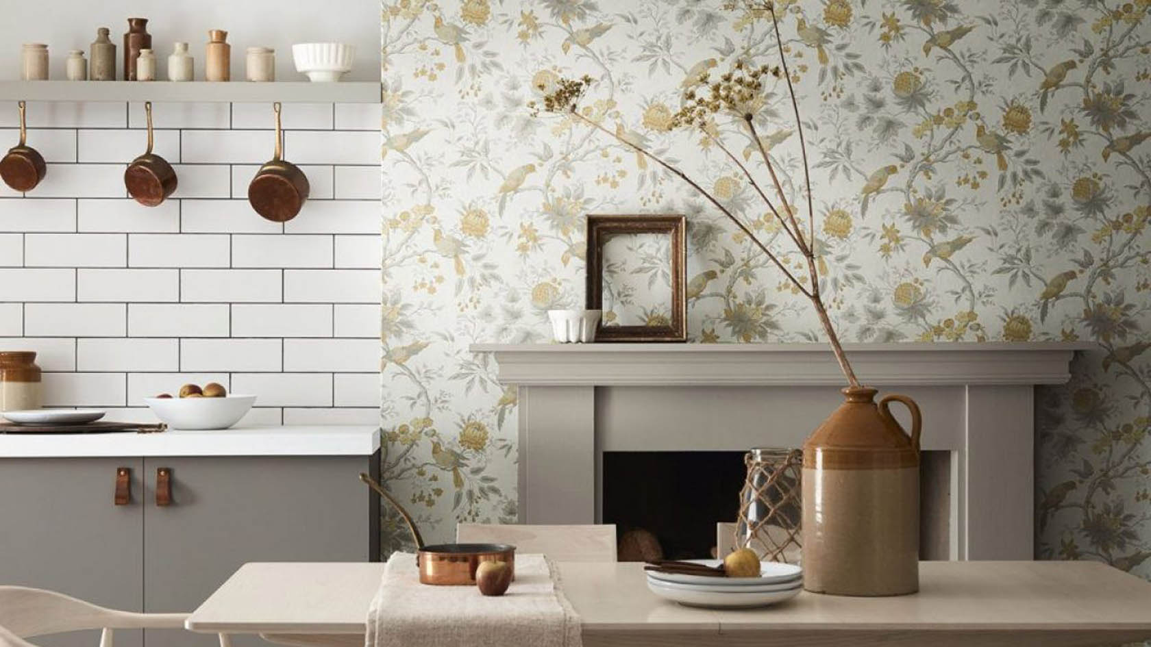 Fabric Based Wallpaper