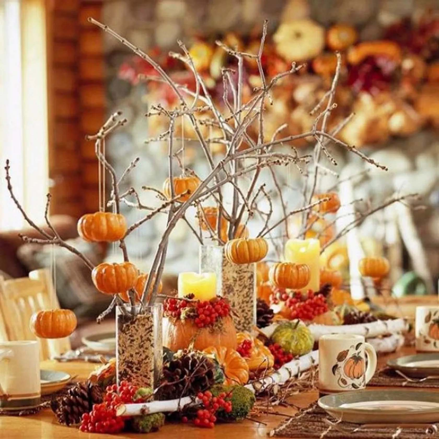 Home Decor Ideas For Thanksgiving
