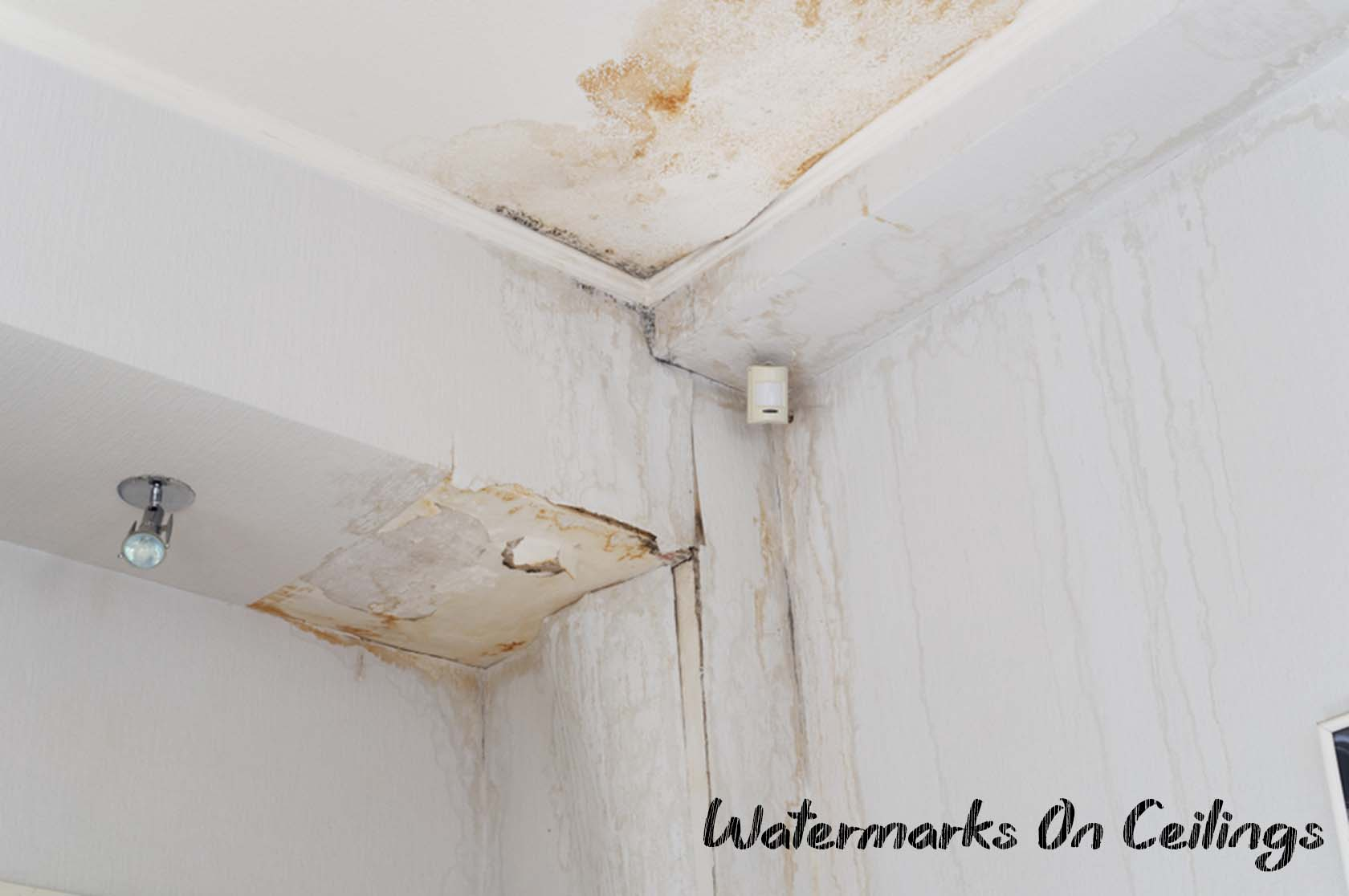 Watermarks On Your Ceilings
