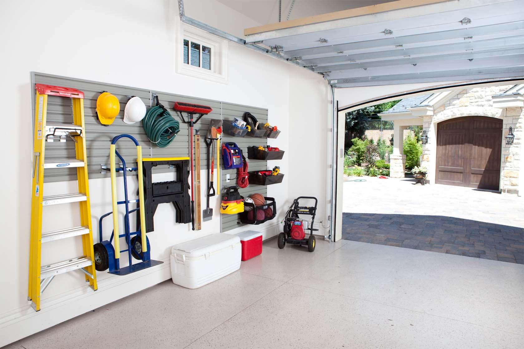 Organized Garage Design