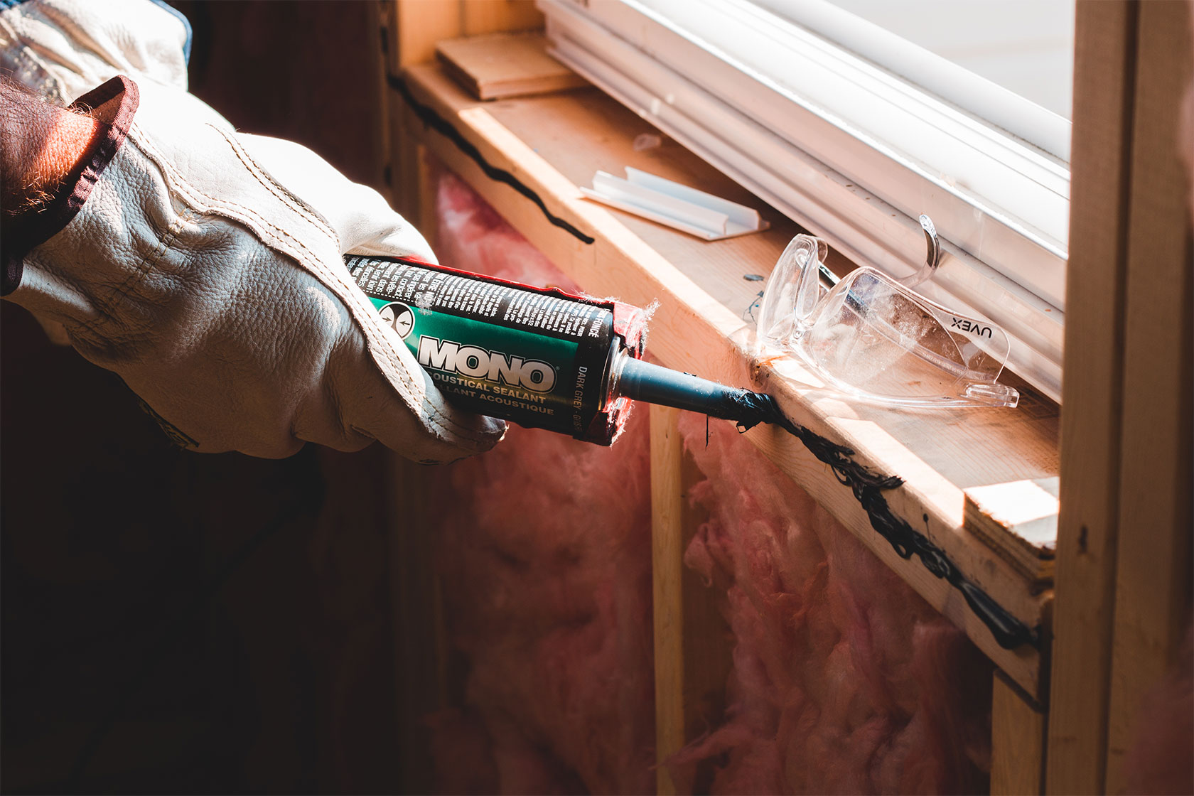 Sealing Cracks And Gaps